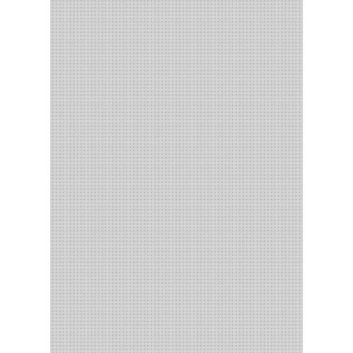 Westcott Tiny Hearts Art Canvas Backdrop with Grommets (5 x 7', Gray)