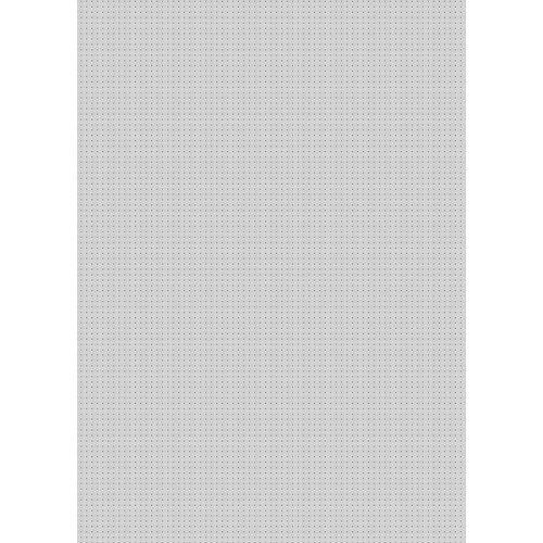 Westcott Tiny Hearts Art Canvas Backdrop with Grommets (5 x 7', Gray)