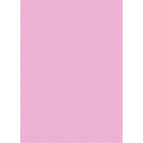 Westcott Tiny Hearts Art Canvas Backdrop with Grommets (5 x 7', Pink)