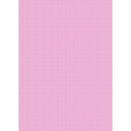 Westcott Tiny Hearts Art Canvas Backdrop with Grommets (5 x 7', Pink)