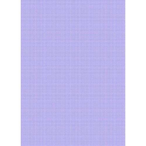 Westcott Tiny Hearts Art Canvas Backdrop with Grommets (5 x 7', Purple)