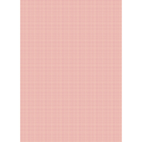 Westcott Tiny Hearts Art Canvas Backdrop with Grommets (5 x 7', Red)