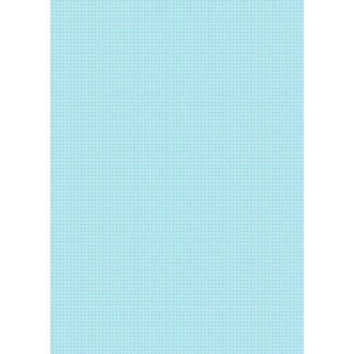 Westcott Tiny Hearts Matte Vinyl Backdrop with Grommets (5 x 7', Blue)