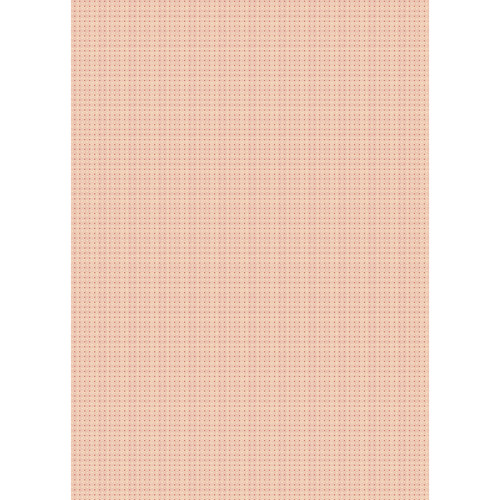 Westcott Tiny Hearts Matte Vinyl Backdrop with Grommets (5 x 7', Orange)