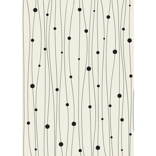 Westcott Abstract Lines Art Canvas Backdrop with Grommets (5 x 7', Tan)