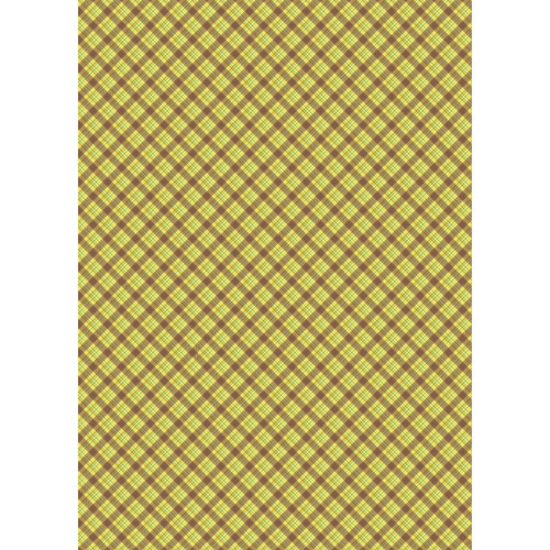 Westcott Sunflower Plaid Art Canvas Backdrop with Grommets (5 x 7', Multi-Color)