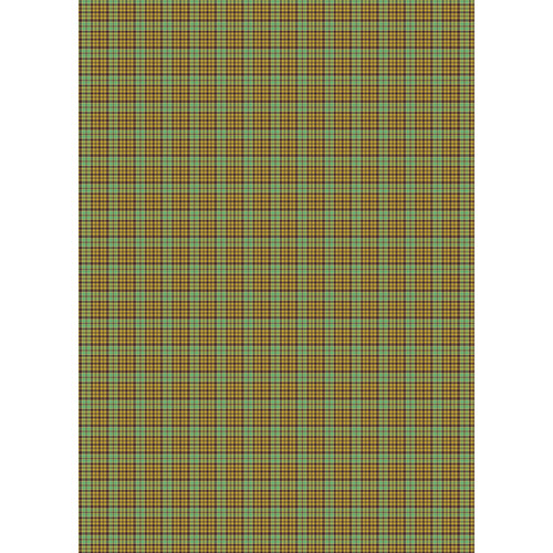 Westcott Emerald Plaid Art Canvas Backdrop with Grommets (5 x 7')