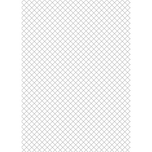 Westcott Cotton Crosshatch Art Canvas Backdrop with Grommets (5 x 7', White)