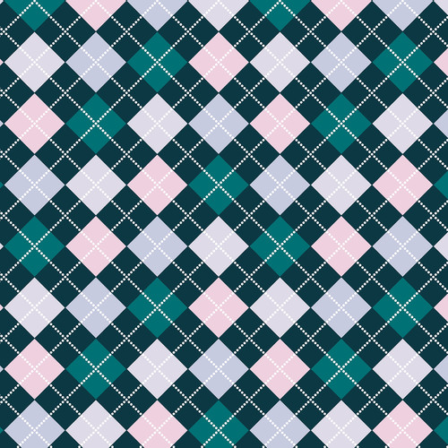 Westcott Diamond Plaid Art Canvas Backdrop with Hook-and-Loop Attachment (3.5 x 3.5', Turquoise)