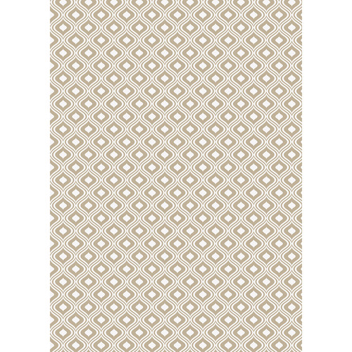 Westcott Mystic Art Canvas Backdrop with Grommets (5 x 7', Brown)