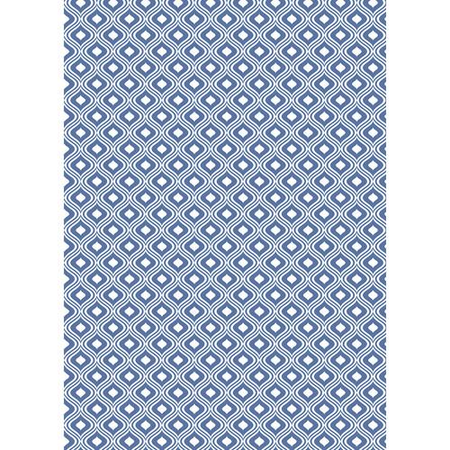 Westcott Mystic Art Canvas Backdrop with Grommets (5 x 7', Navy Blue)