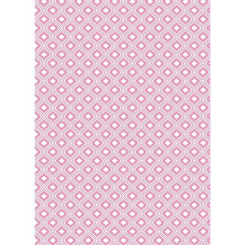 Westcott Mystic Art Canvas Backdrop with Grommets (5 x 7', Pink)