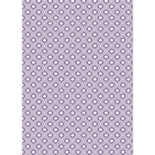 Westcott Mystic Art Canvas Backdrop with Grommets (5 x 7', Purple)