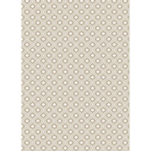 Westcott Mystic Pattern Matte Vinyl Backdrop with Grommets (5 x 7', Brown)
