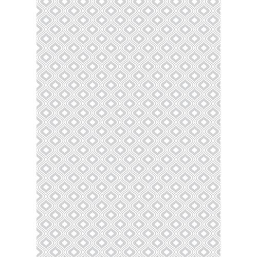 Westcott Mystic Pattern Matte Vinyl Backdrop with Grommets (5 x 7', Gray)