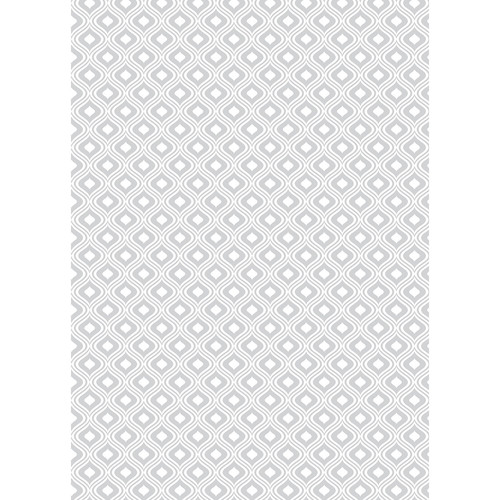 Westcott Mystic Pattern Matte Vinyl Backdrop with Grommets (5 x 7', Gray)