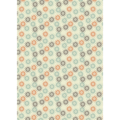 Westcott Bursting Art Canvas Backdrop with Grommets (5 x 7', Multi-Color)