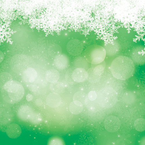 Westcott Snowy Bokeh Art Canvas Backdrop with Hook-and-Loop Attachment (3.5 x 3.5', Green)