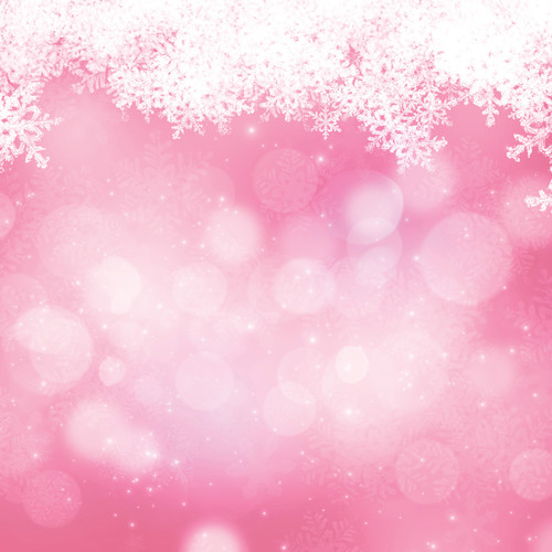 Westcott Snowy Bokeh Art Canvas Backdrop with Hook-and-Loop Attachment (3.5 x 3.5', Pink)