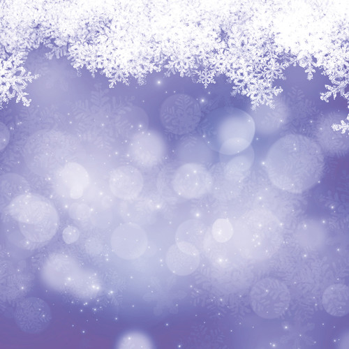 Westcott Snowy Bokeh Art Canvas Backdrop with Hook-and-Loop Attachment (3.5 x 3.5', Purple)