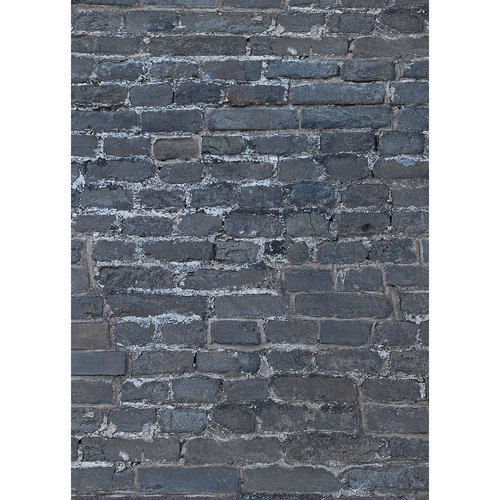 Westcott Brick Wall Art Canvas Backdrop with Grommets (5 x 7', Multi-Color)