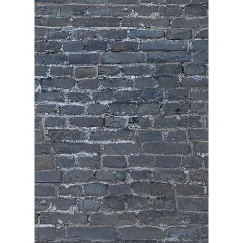 Westcott Brick Wall Matte Vinyl Backdrop with Grommets (5 x 7', Multi-Color)