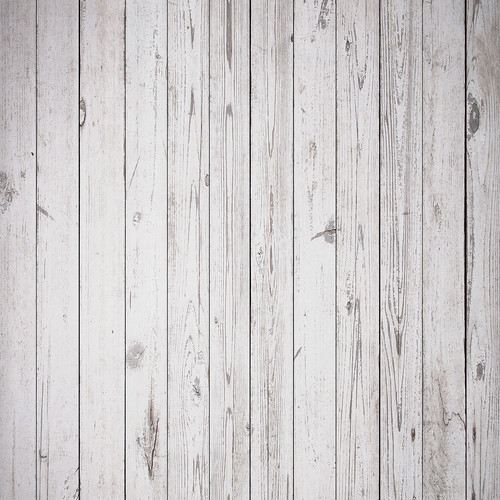Westcott Old Wood Floor Art Canvas Backdrop with Hook-and-Loop Attachment (3.5 x 3.5', White)