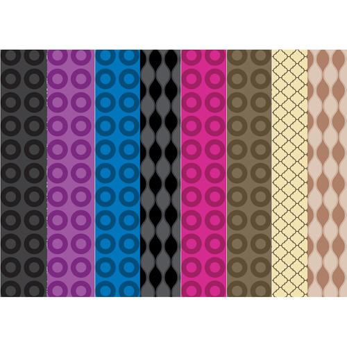 Westcott Modern Vintage Backdrop Bundle (8-Pack, 9 x 12')