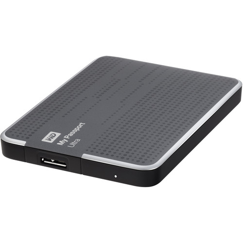 WD 500GB My Passport Ultra Portable Hard Drive (Titanium)
