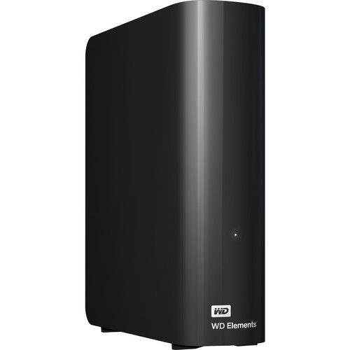WD 3TB Elements USB 3.0 External Desktop Hard Drive