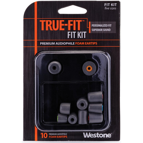 Westone True-Fit Premium Foam Eartips (10-Pack)