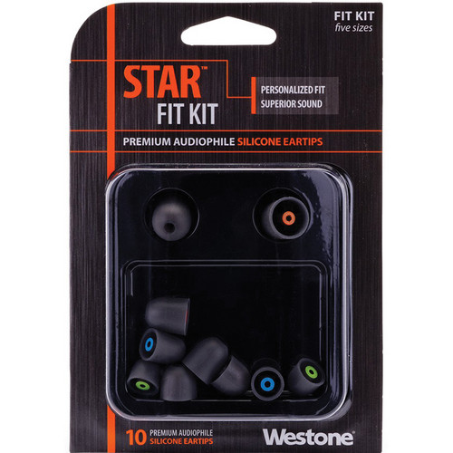 Westone STAR Premium Silicone Eartips (10-Pack)