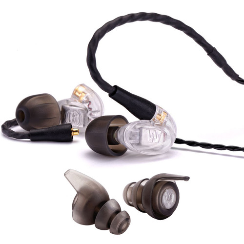 Westone UM Pro10 Universal In-Ear Monitors Package with WR20 Attenuators (Smoke)