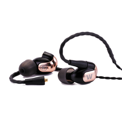 Westone W60 Six-Driver with 3-Way Crossover In-Ear Monitor Headphone (Bronze)