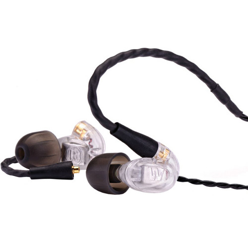 Westone UM Pro 30 Triple-Driver Universal In-Ear Monitors (Clear, First Generation)