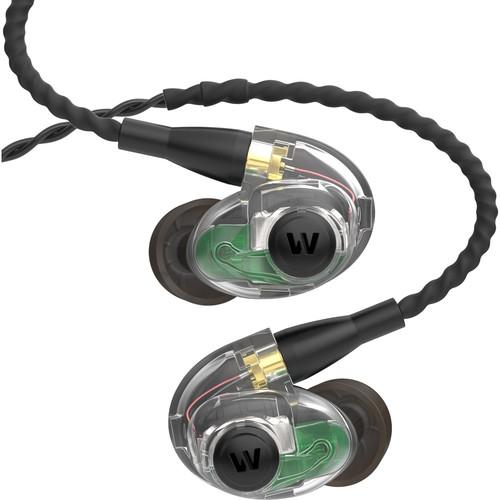 Westone AM Pro 30 Triple-Driver Universal Ambient-Port In-Ear Monitors (Clear/Black)