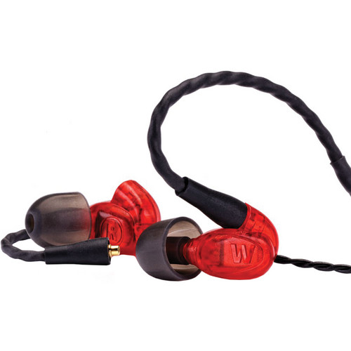 Westone UM Pro10 Single-Driver Universal In-Ear Monitors (Red)