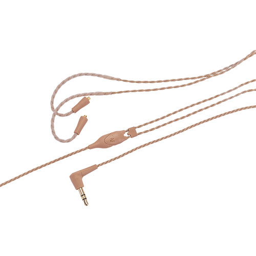 """Westone ES/UM Pro-Replacement Cable 52"""" Straight Twisted With MMCX Connector (Beige)"""