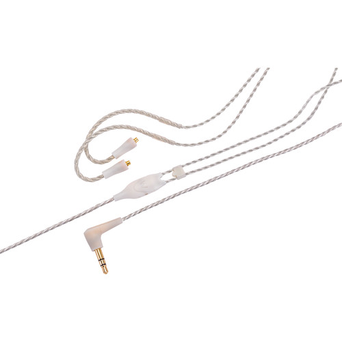 """Westone ES/UM Pro-Replacement Cable 52"""" Straight Twisted With MMCX Connector (Clear)"""