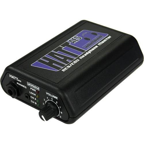 Whirlwind HATT-AES Tabletop Active Headphone Amplifier