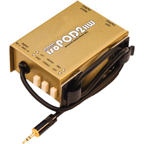 Whirlwind Isopod2HW Personal Stereo Direct Box