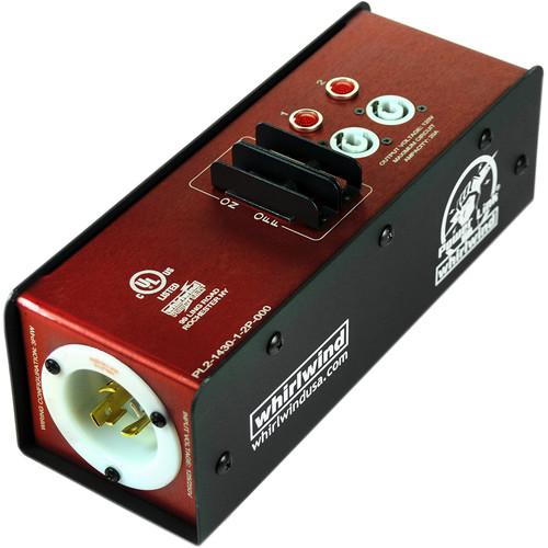 Whirlwind Power Link L14-30 NEMA to Two 20A Neutrik PowerCon Splitter