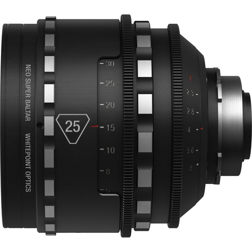 Whitepoint Optics 25mm Neo Super Baltar Lens with PL Mount (Imperial Scale)