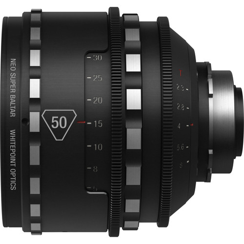 Whitepoint Optics 50mm Neo Super Baltar Lens with PL Mount (Metric Scale)