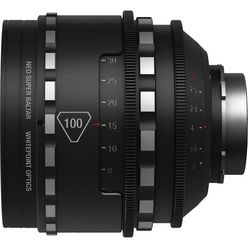 Whitepoint Optics 100mm Neo Super Baltar Lens with PL Mount (Metric Scale)