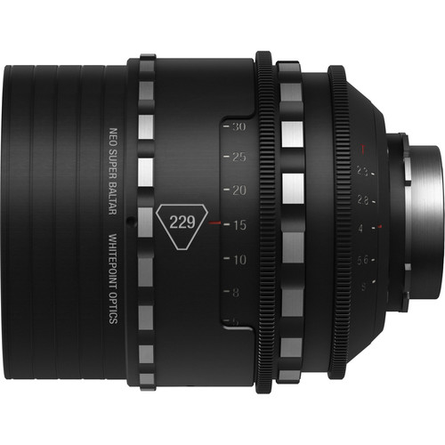 Whitepoint Optics 229mm Neo Super Baltar Lens with PL Mount (Imperial Scale)