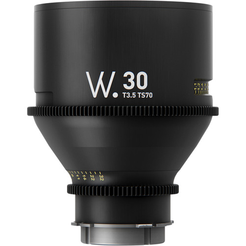 Whitepoint Optics TS70 30mm Lens with EF Mount (Imperial Scale)