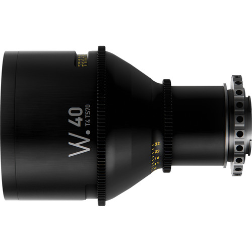 Whitepoint Optics TS70 40mm Tilt-Shift Lens with E Mount (Imperial Scale)