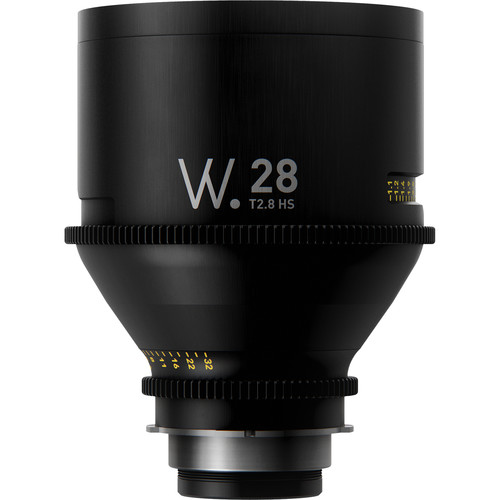 Whitepoint Optics High-Speed 28mm Lens with PL Mount (Imperial Scale)
