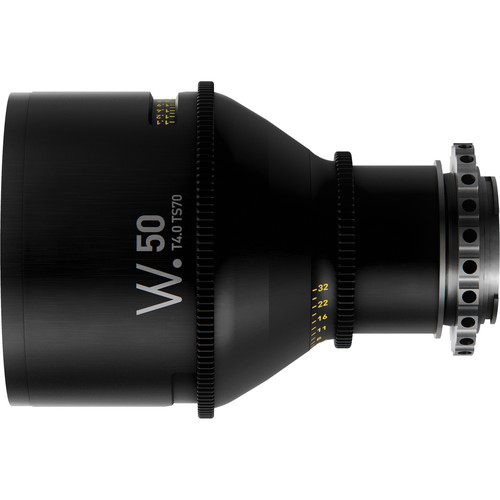 Whitepoint Optics TS70 50mm Tilt-Shift Lens with EF Mount (Imperial Scale)